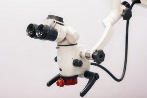 The image of the professional Dental endodontic binocular microscope