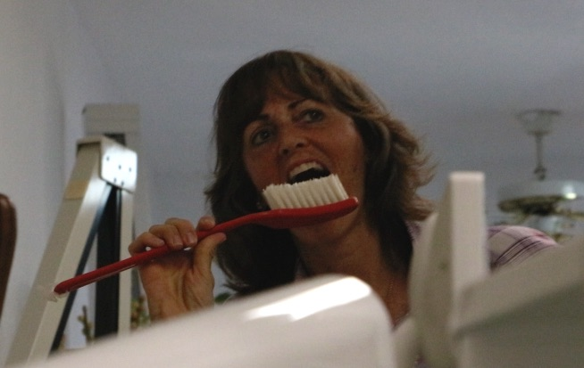 Now that's a serious toothbrush.
