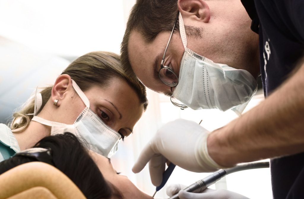 Mexico Dentists Examing a Patient