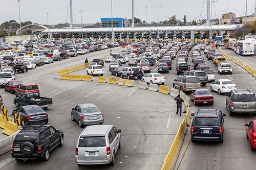 Tijuana San Diego Border